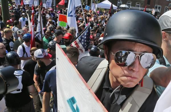 <div class='meta'><div class='origin-logo' data-origin='AP'></div><span class='caption-text' data-credit='AP Photo/Steve Helber'>White nationalist rally to protest the removal of a Confederate General Robert E. Lee statue</span></div>