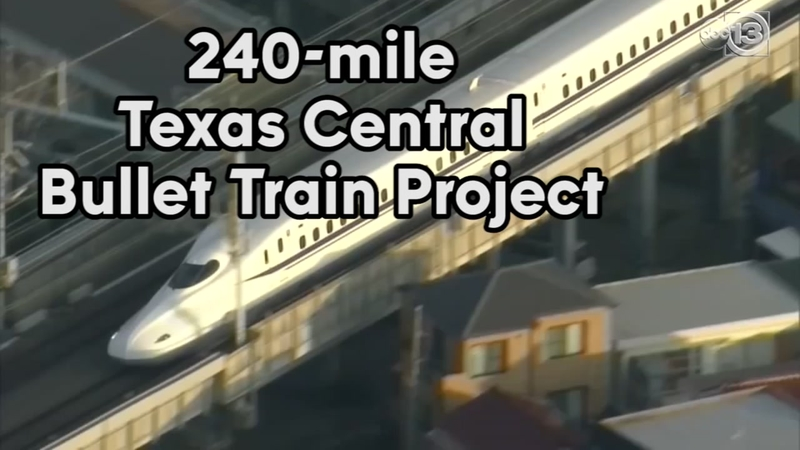 Bullet train from Houston to Dallas takes another step