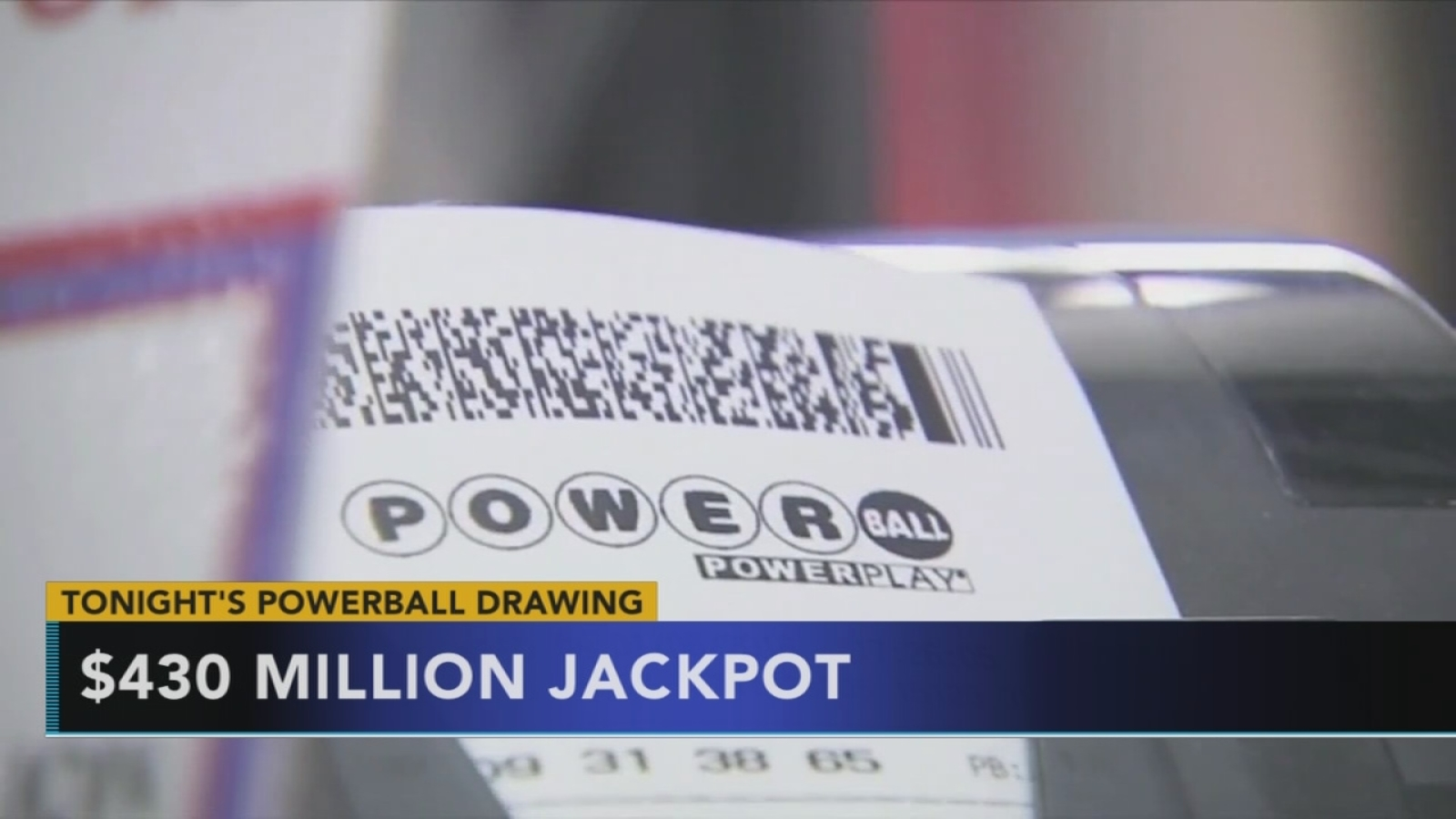 Powerball Jackpot Tops 430 Million 6abc Com