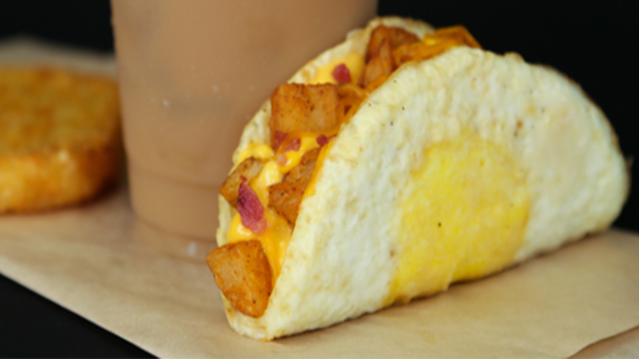 Taco Bell turns breakfast inside out with 'Naked Egg Taco'