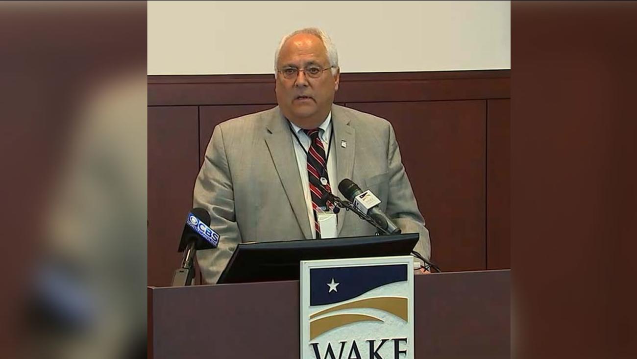 Wake County Manager Jim Hartmann