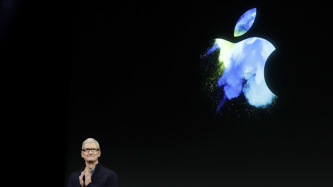 CEO Tim Cook speaks during an announcement of new products in Cupertino, Calif. on Oct. 27, 2016.