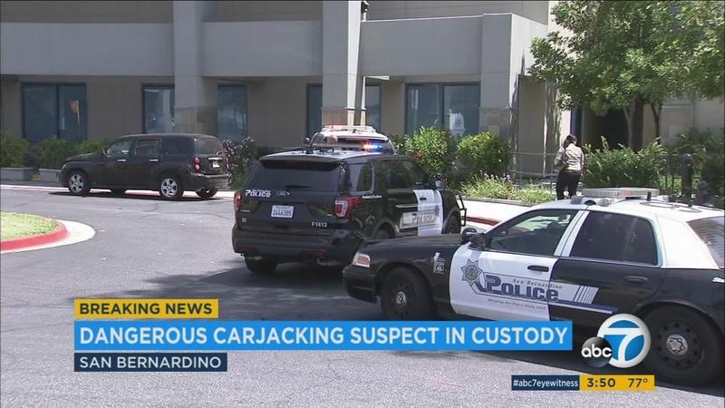 Man caught in Utah after carjacking spree that began at IE hospital