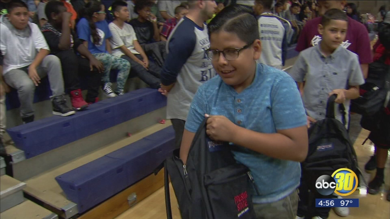 Fresno State Partners With United Way To Deliver Hundreds Of