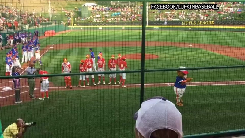 Lufkin baseball team advances to 2nd game in LLWS