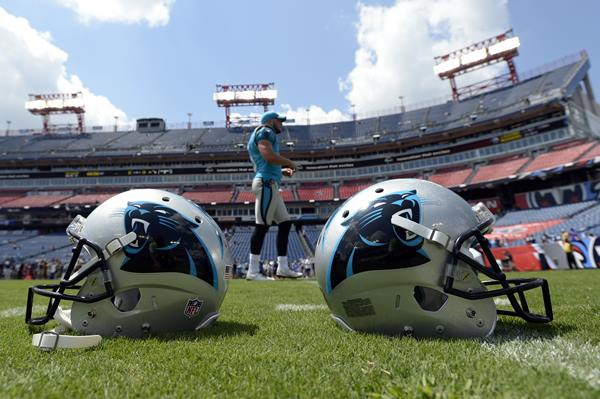 "<div class=""meta image-caption""><div class=""origin-logo origin-image ap""><span>AP</span></div><span class=""caption-text"">Carolina Panthers punter Michael Palardy walks on the field before the game Saturday. (Mark Zaleski)</span></div>"