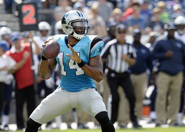 "<div class=""meta image-caption""><div class=""origin-logo origin-image ap""><span>AP</span></div><span class=""caption-text"">Joe Webb gets ready to fire downfield for the Panthers. (Mark Zaleski)</span></div>"