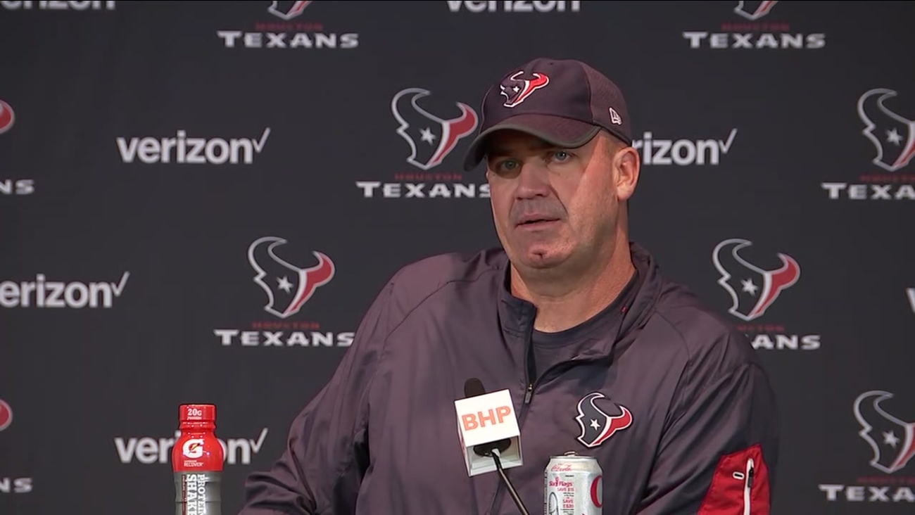 Bill O'Brien speaks after Texans victory over the Patriots