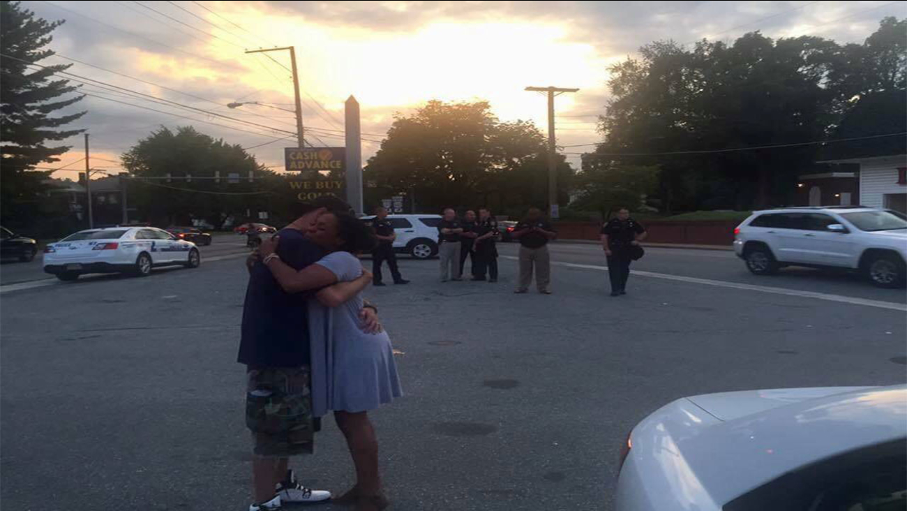 A viral photo that was captured at the end of the day at the Jubal Early monument.