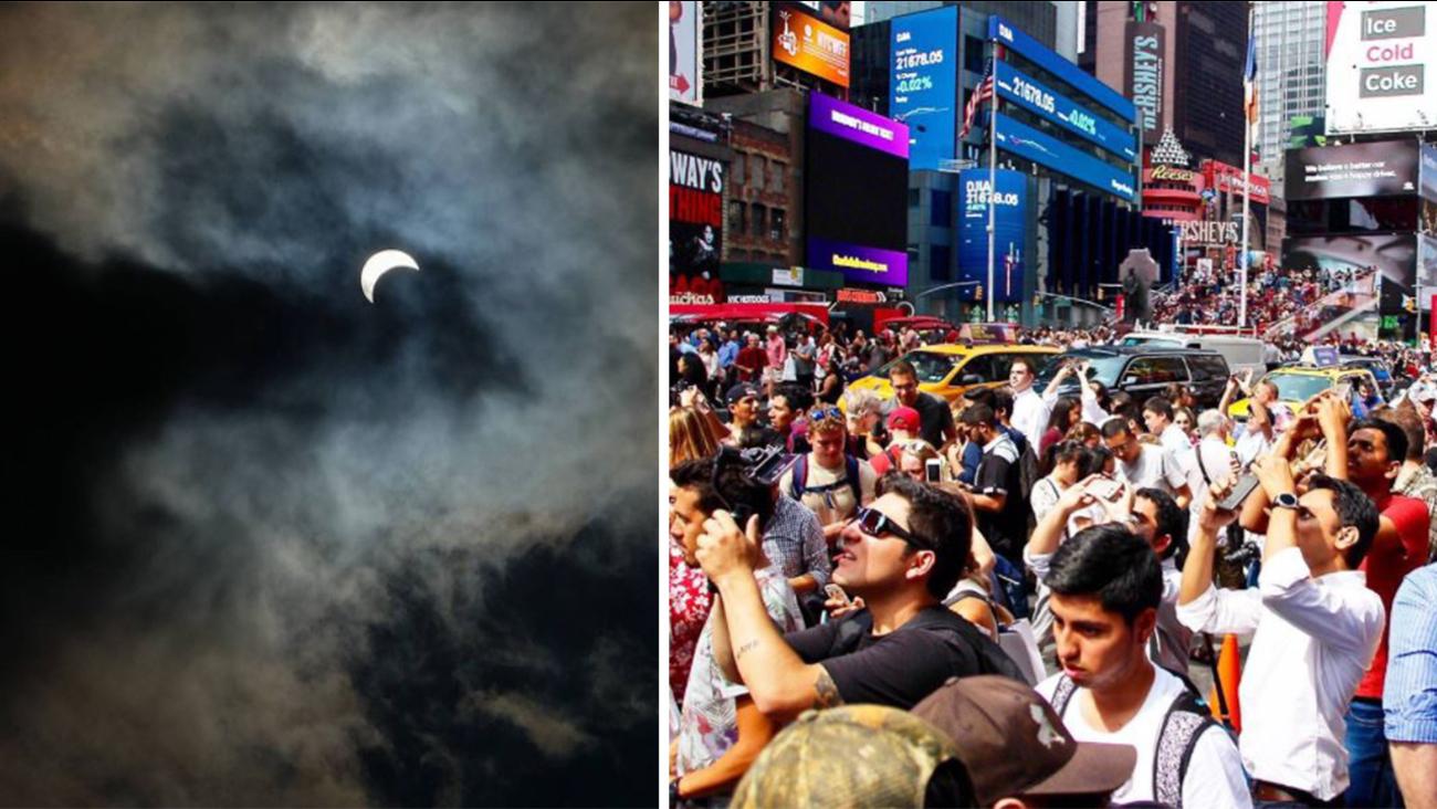 solar eclipse photos