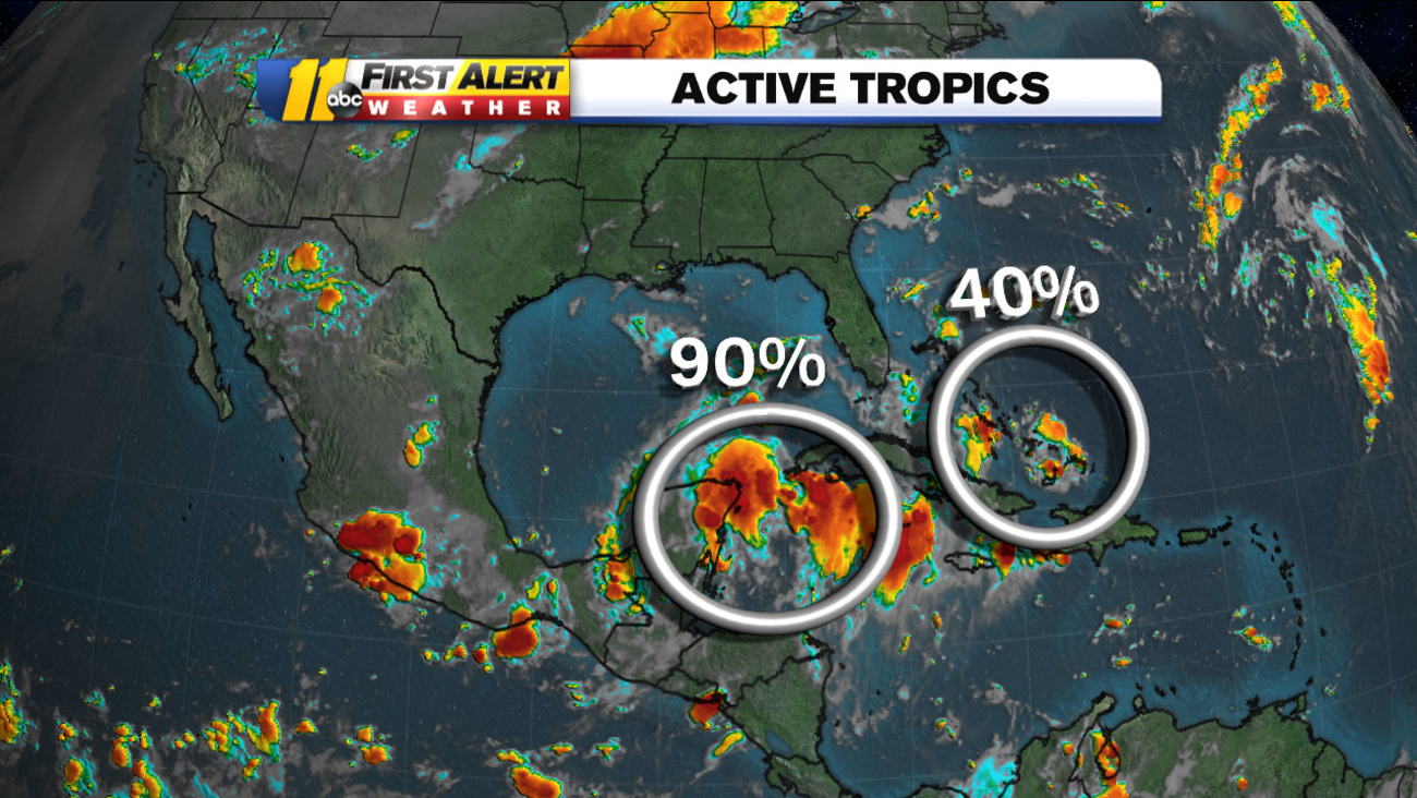 Its August And Thats When Our Tropical Season Starts To Heat Up We Are Watching Two Systems Right Now Ive Highlighted Them