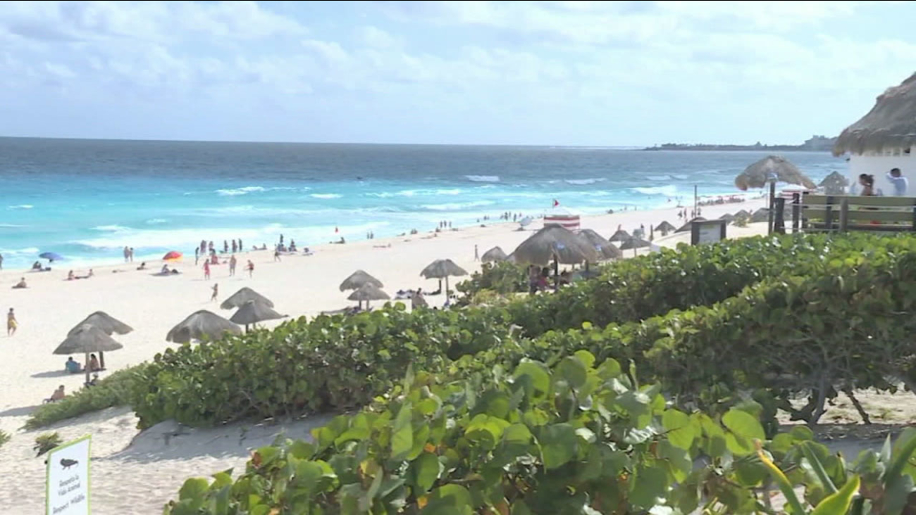 A Mexico beach is shown in a file photo.