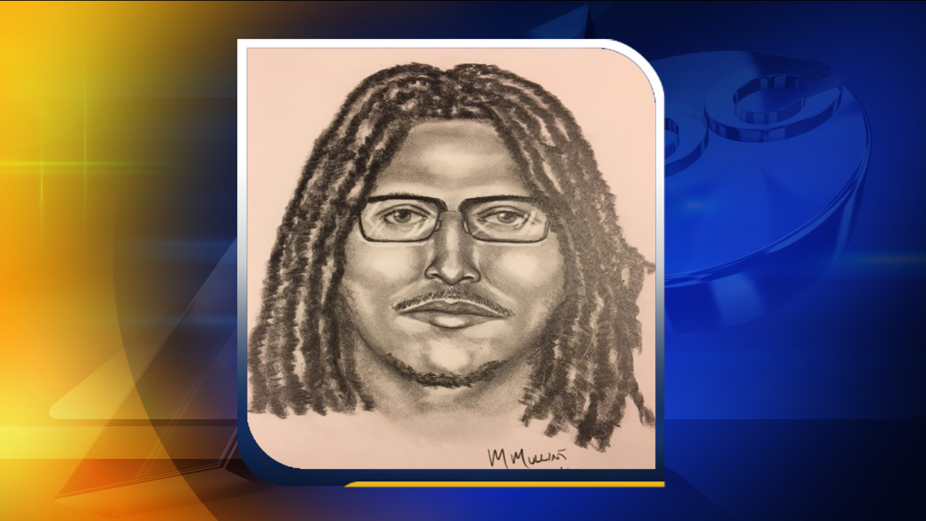 Police believe this man attacked a woman while she was jogging.