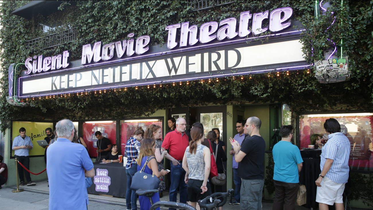 Keep Netflix Weird Event at Cinefamily on Wednesday, April 20, 2016, in Los Angeles.