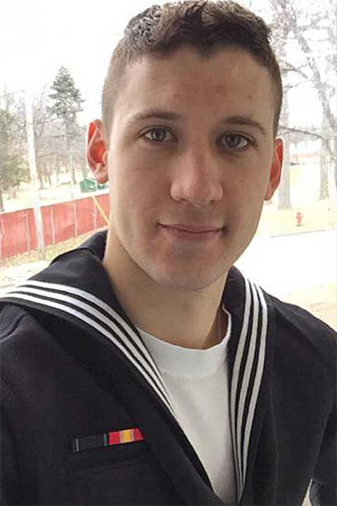 <div class='meta'><div class='origin-logo' data-origin='none'></div><span class='caption-text' data-credit='U.S. Navy'>Electronics Technician 3rd Class Dustin Louis Doyon, 26, from Connecticut.</span></div>