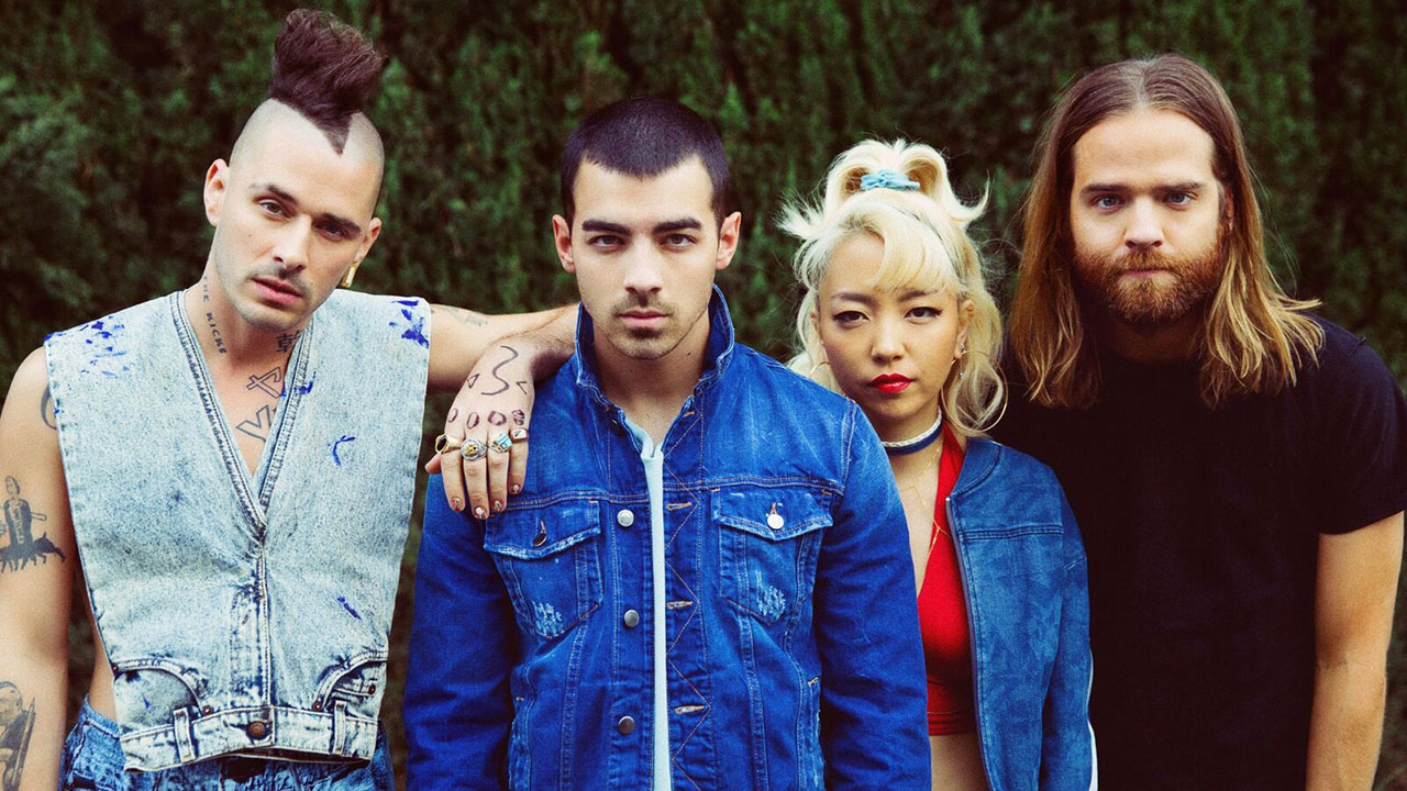 Members of platinum-selling band DNCE.