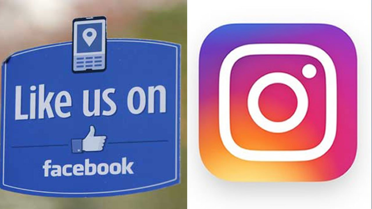 Facebook and Instagram