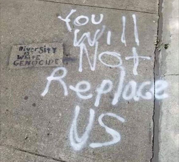 Pro-Nazi graffiti found in Lincoln Square