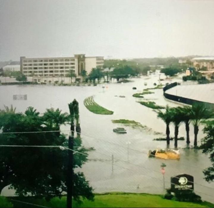 <div class='meta'><div class='origin-logo' data-origin='none'></div><span class='caption-text' data-credit='Foti Kallergis'>Flooded runway and roads at Hobby Airport.</span></div>