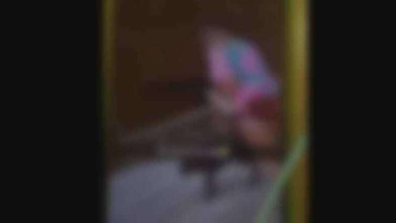 A blurred screenshot from the video