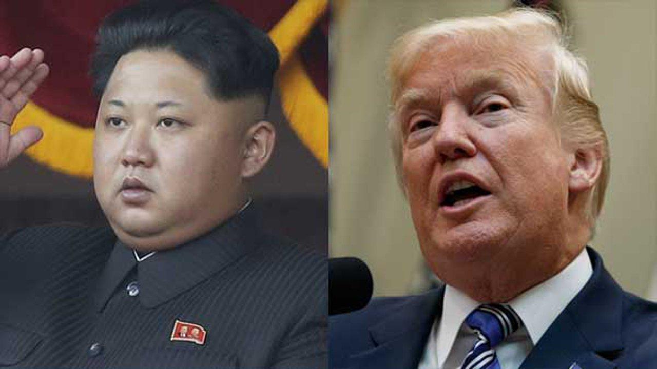 North Korea's Kim Jong Un and U.S. President Donald Trump.