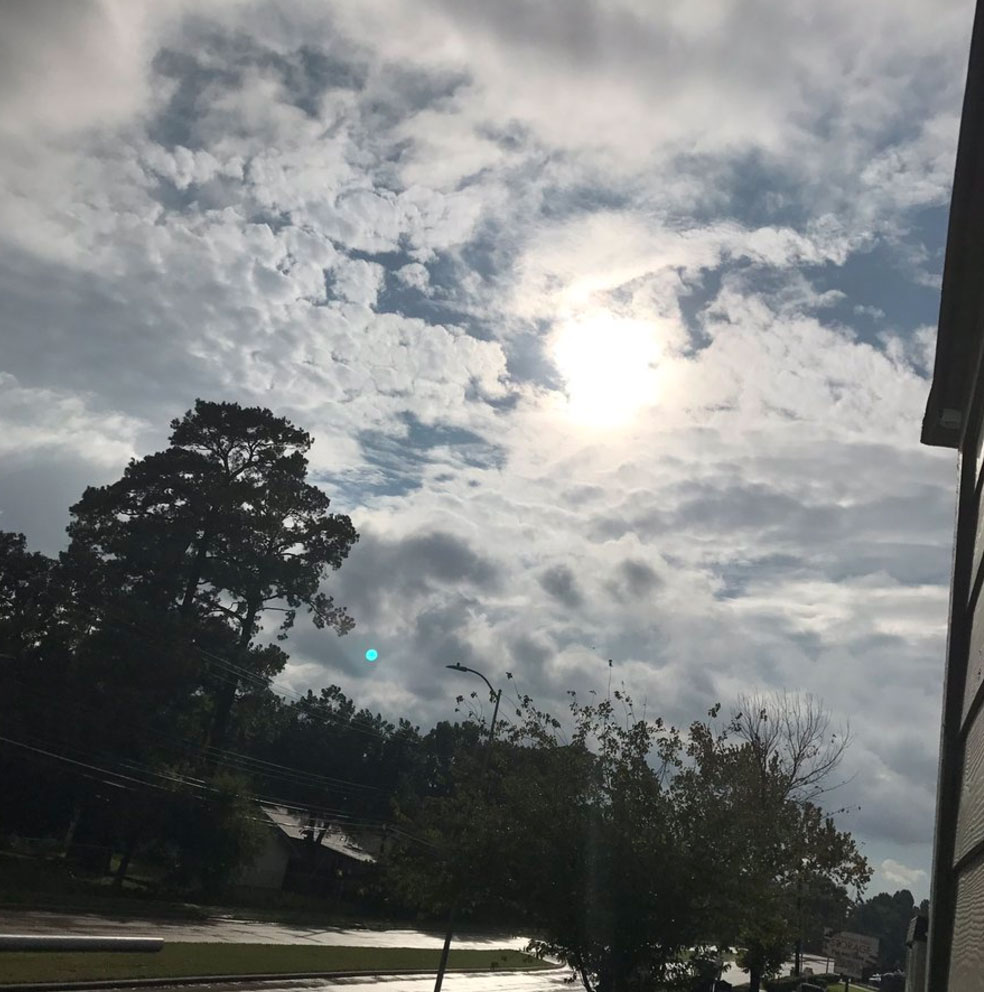 <div class='meta'><div class='origin-logo' data-origin='none'></div><span class='caption-text' data-credit='Gabby Greer'>The Twitter user who posted this photo on Tuesday wrote, ''THE SUN IS OUT IN HOUSTON. I repeat. THE SUN IS OUT IN HOUSTON.''</span></div>