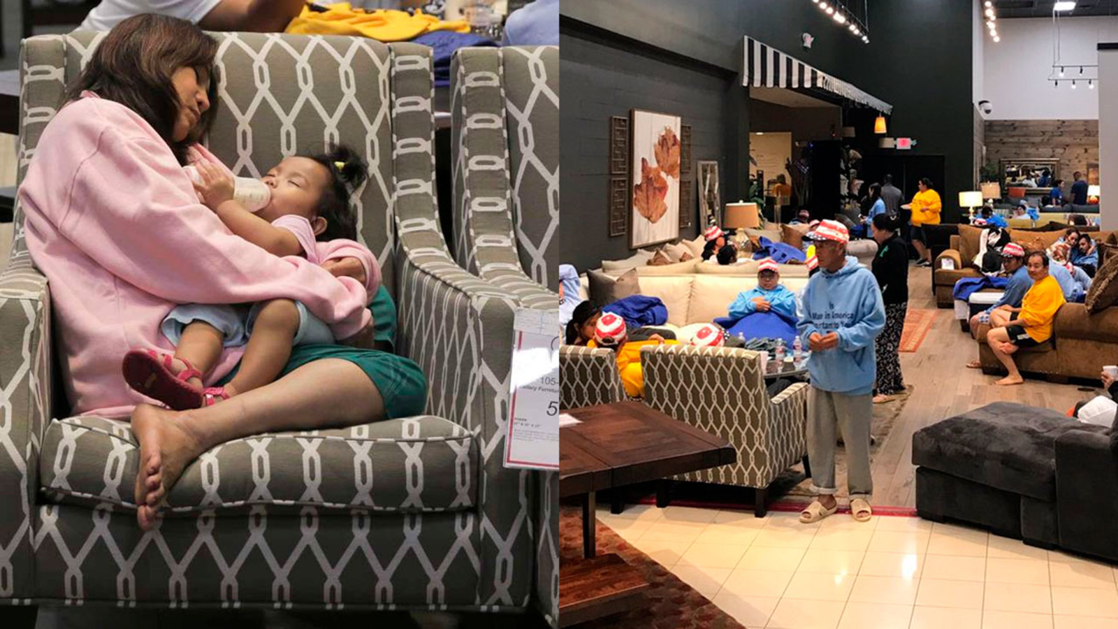 Furniture Stores Open For People In Need Of Shelter Across