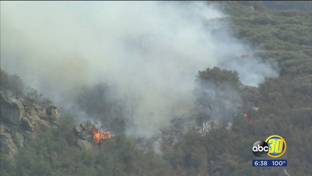 Pier Fire near Springville grows to 4,655 acres, evacuations in place