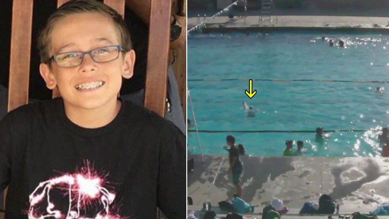 Video shows classmates try to rescue California teen who drowned in