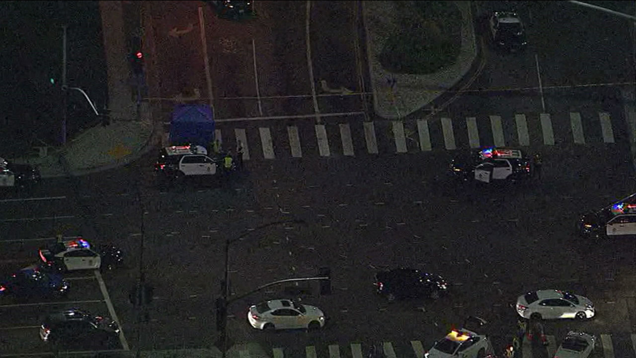 The incident is believed to have occurred around 8:25 p.m. Aug. 30 at Wilshire Boulevard and Federal Avenue.