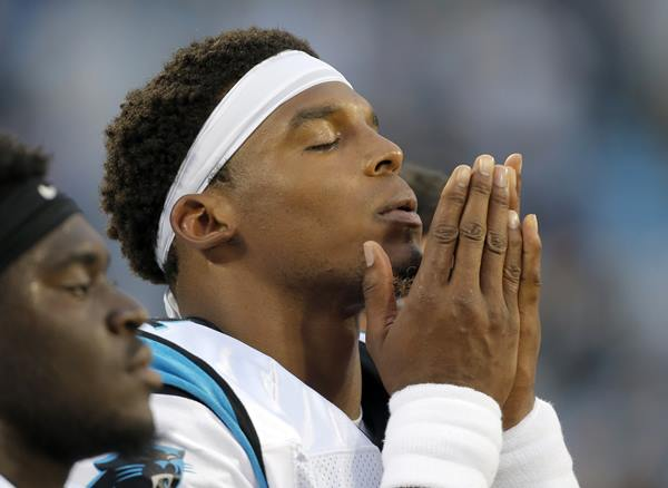 <div class='meta'><div class='origin-logo' data-origin='AP'></div><span class='caption-text' data-credit='Mike McCarn'>Cam Newton didn't have a prayer of seeing action in the final, meaningless-for-the-starters game of preseason.</span></div>