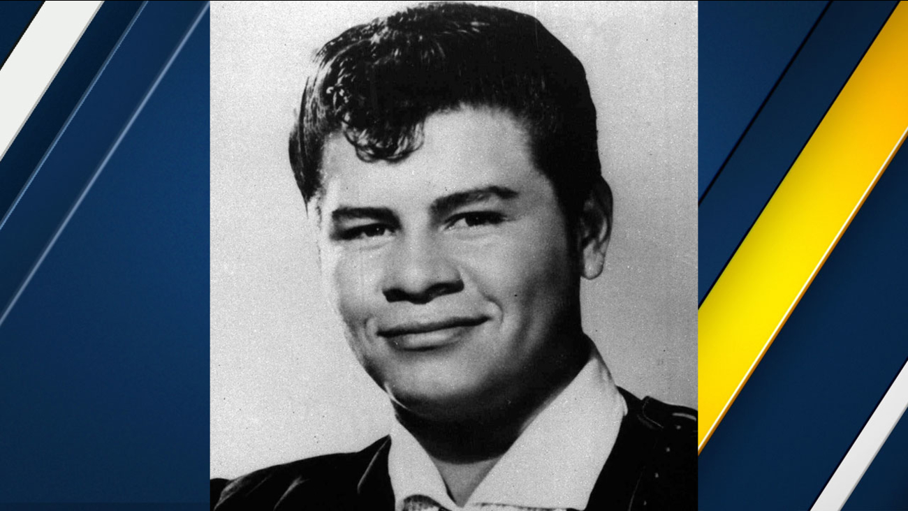 Rock singer Ritchie Valens is shown in this 1959 photo.