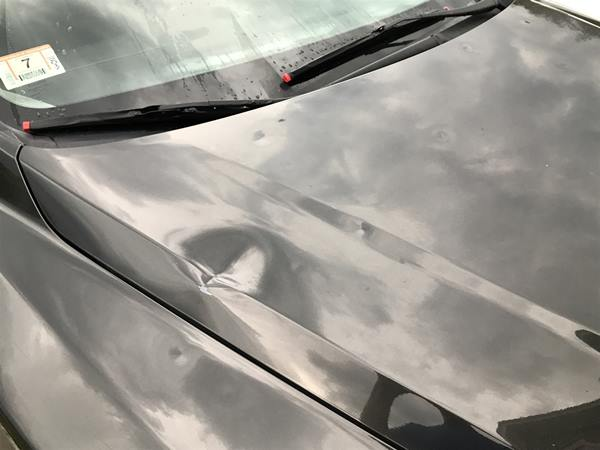 "<div class=""meta image-caption""><div class=""origin-logo origin-image wtvd""><span>WTVD</span></div><span class=""caption-text"">This car took a beating from the hail. (ABC11 Eyewitness)</span></div>"