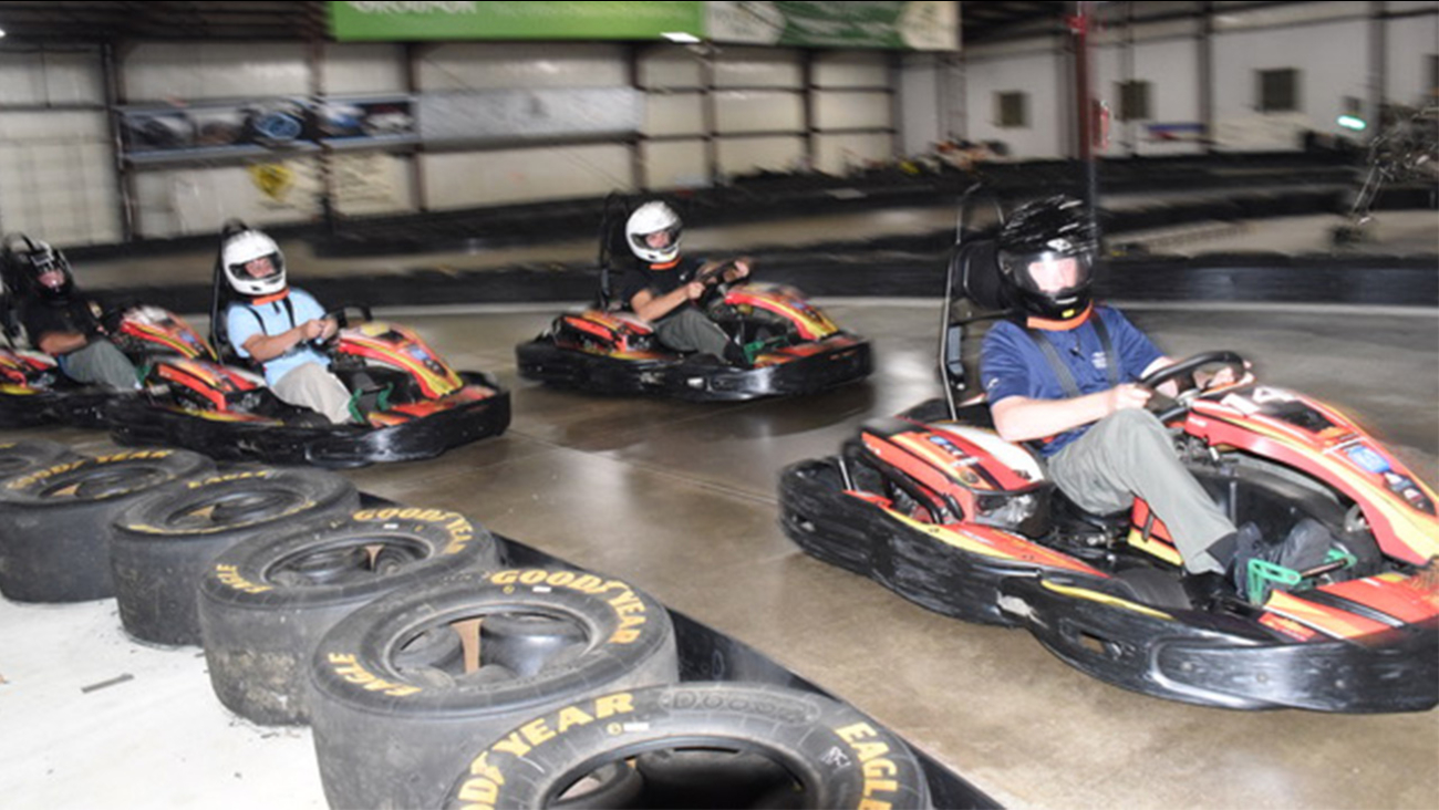 Rush Hour Karting to help Harvey victims