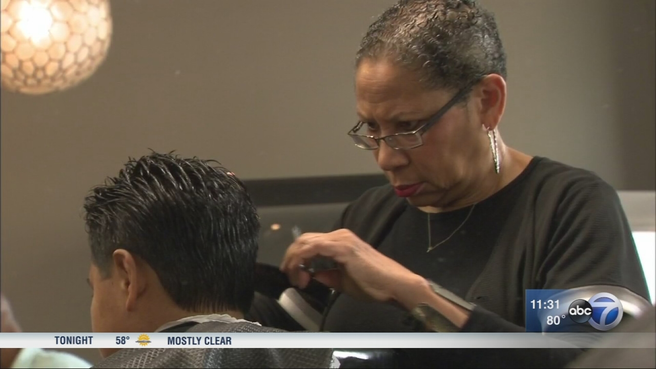 Local Barbershops Give Free Haircuts Backpacks To Chicago Public