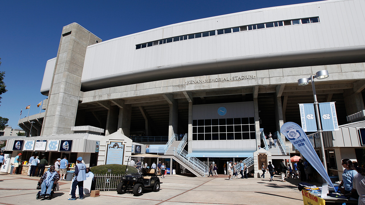 North Carolinas' Kenan Stadium is shown in Chapel Hill, N.C., Saturday, Oct. 8, 2011
