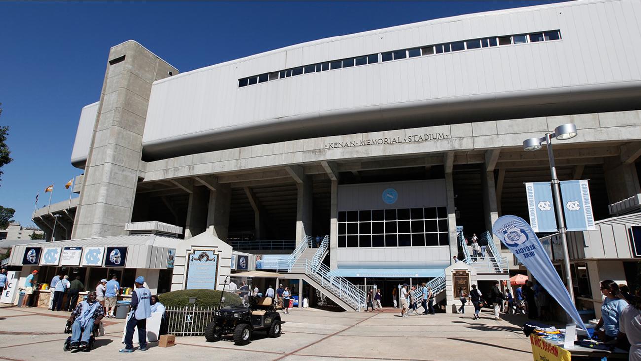North Carolinas' Kenan Stadium is shown in Chapel Hill, N.C., Saturday, Oct. 8, 2011