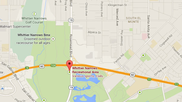 Whittier Narrows Recreational Area, 750 Santa Anita Ave., South El Monte