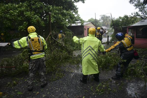 """<div class=""""meta image-caption""""><div class=""""origin-logo origin-image ap""""><span>AP</span></div><span class=""""caption-text"""">Rescue staff  toured the streets of the Matelnillo community in Puerto Rico searching for citizens in distress during the passage of Hurricane Irma. (Carlos Giusti)</span></div>"""
