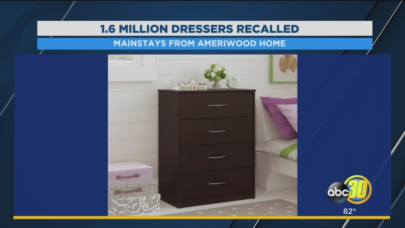 1 6 Million Pieces Of Furniture Being Recalled Due To Tipping Hazard Abc30