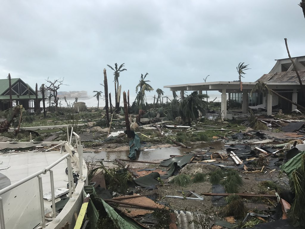 <div class='meta'><div class='origin-logo' data-origin='none'></div><span class='caption-text' data-credit='Jonathan Falwell/Twitter'>''We are safe. No power, no water, everything destroyed. Buildings gone. Please pray as this island is decimated,'' wrote Jonathan Falwell.</span></div>