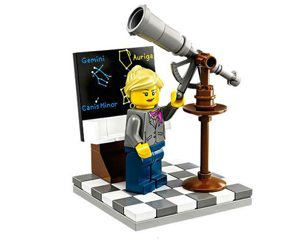 "<div class=""meta image-caption""><div class=""origin-logo origin-image ""><span></span></div><span class=""caption-text"">It includes an astronomer with her telescope. (Photo/LEGO)</span></div>"