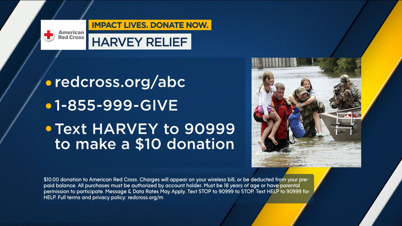 Join ABC7 and the Disney-ABC Television Group to benefit those impacted by Hurricane Harvey.
