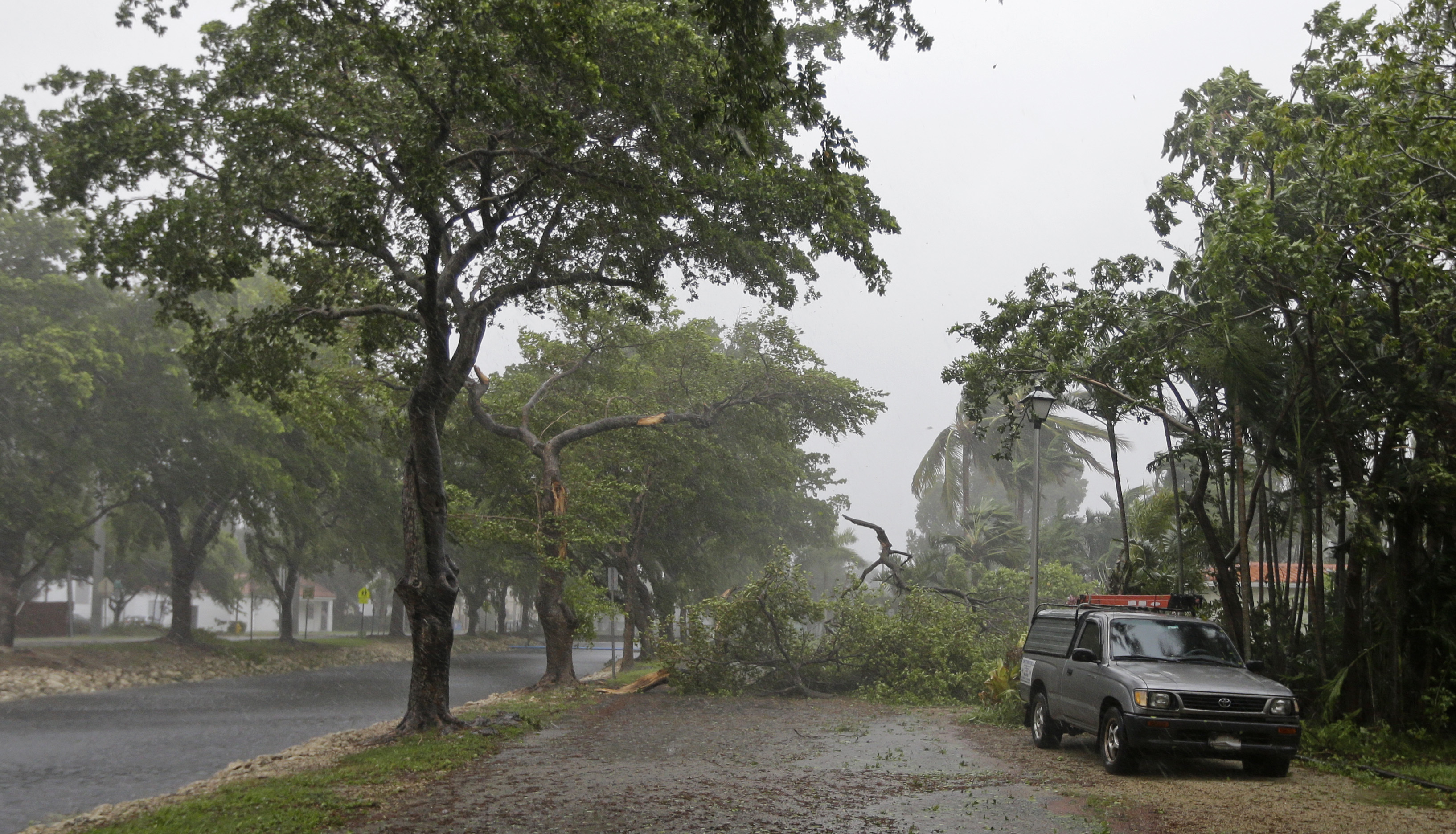 "<div class=""meta image-caption""><div class=""origin-logo origin-image none""><span>none</span></div><span class=""caption-text"">A fallen tree blocks a street in Miami Springs, Fla., on Sunday, Sept. 10, 2017. (Alan Diaz/AP Photo)</span></div>"