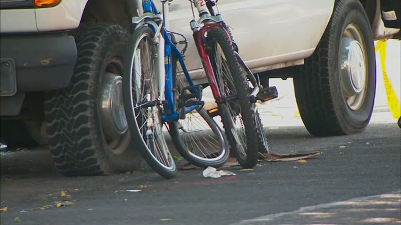 Driver in custody after bicyclist struck in Borough Park