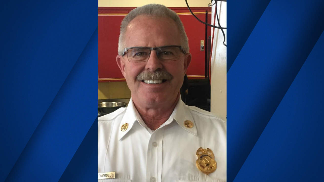 San Francisco Fire Department Battalion Chief Terry Smerdel is seen in this undated image.
