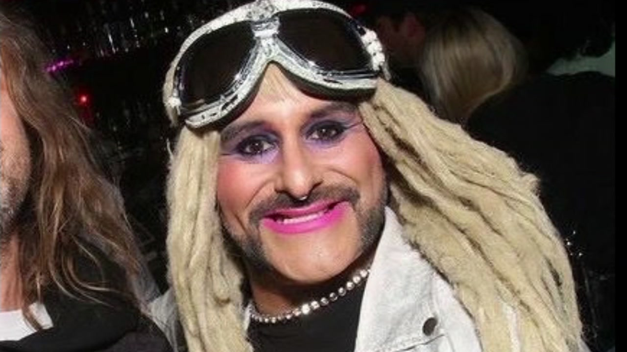 "A San Francisco man known as ""Bubbles"" in the transgender community is seen in this undated image."