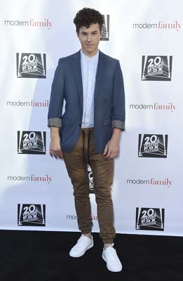 <div class='meta'><div class='origin-logo' data-origin='AP'></div><span class='caption-text' data-credit='Jordan Strauss/Invision/AP'>Nolan Gould arrives at the &#34;Modern Family&#34; FYC Event on Wednesday, May 3, 2017 in Los Angeles. (Photo by Jordan Strauss/Invision/AP)</span></div>