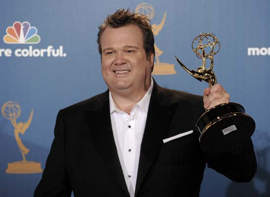 <div class='meta'><div class='origin-logo' data-origin='AP'></div><span class='caption-text' data-credit='AP'>Actor Eric Stonestreet on Sunday, Aug. 29, 2010, in Los Angeles. (AP Photo/Chris Pizzello)</span></div>