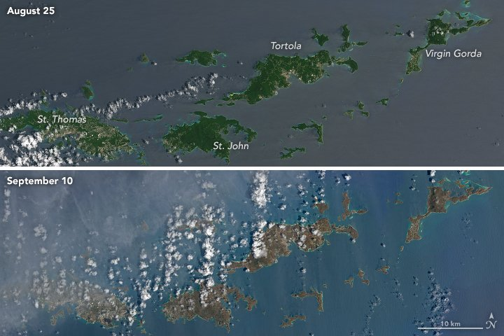 <div class='meta'><div class='origin-logo' data-origin='none'></div><span class='caption-text' data-credit='NASAEarth/Twitter'>''Hurricane Irma Turns Caribbean Islands Brown,'' NASA Earth wrote on Twitter.</span></div>